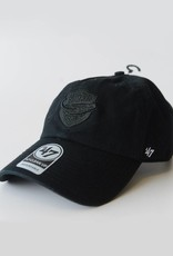 47 Brand Black on Black Adjustable Hat with Side Embrodiery