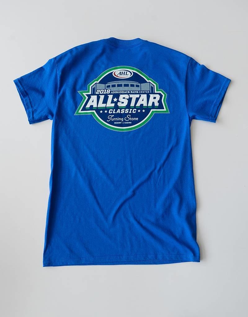 All Star Apparel - Blue Tee