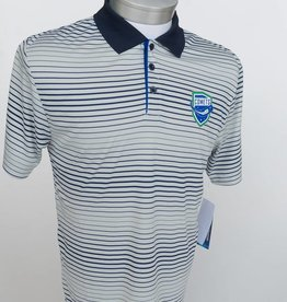 Colosseum Men's Striped Polo Shirt