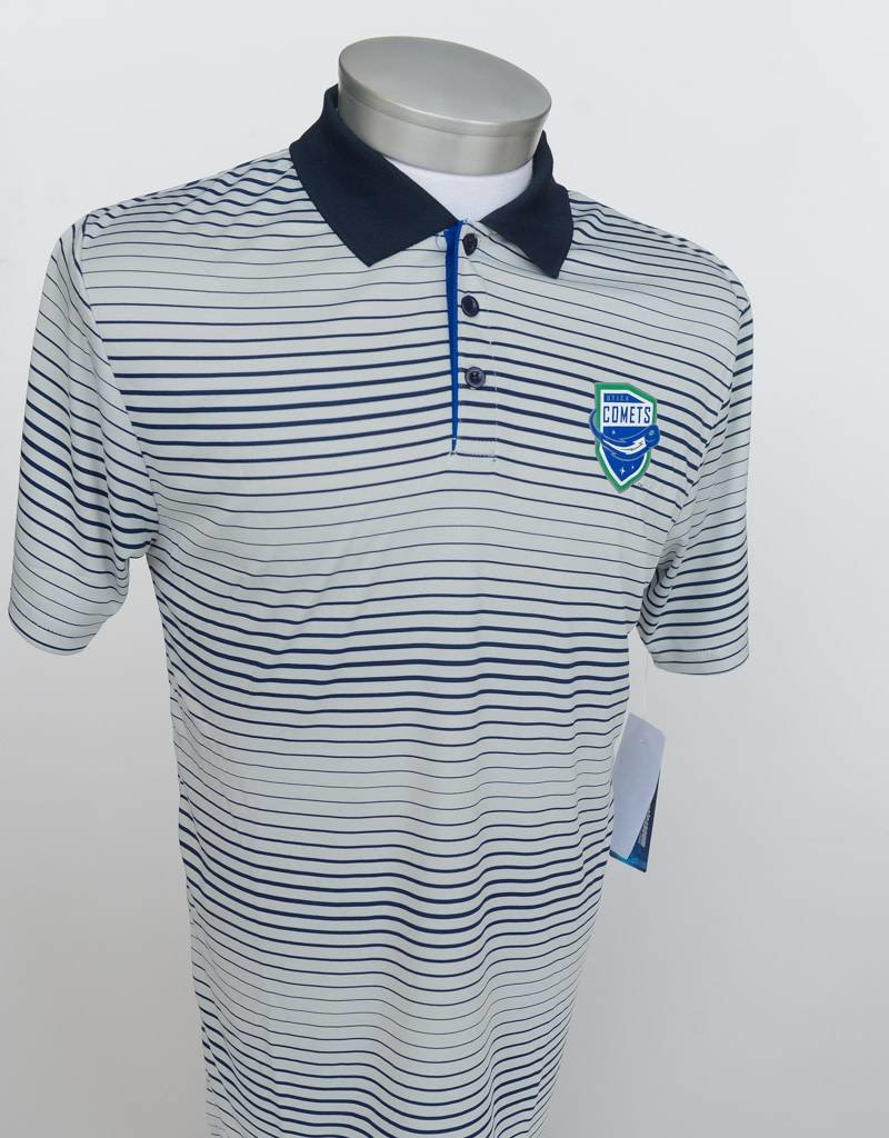 Colosseum Men's Striped Polo Shirt
