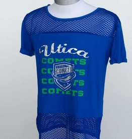 Colosseum Women's Blue Mesh Tee
