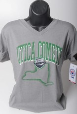 Colosseum Women's Home State Tee - Grey