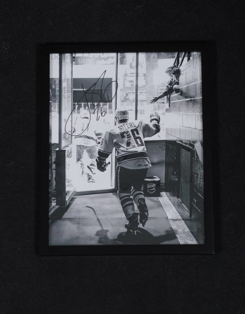 Black and White Sifers Signed Framed Photo
