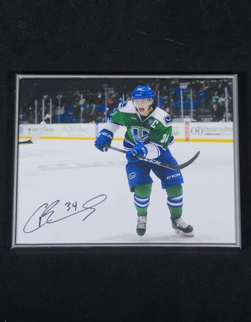 Carter Bancks Signed Framed Photo