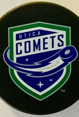 Sher-Wood Utica Comets Branded Puck