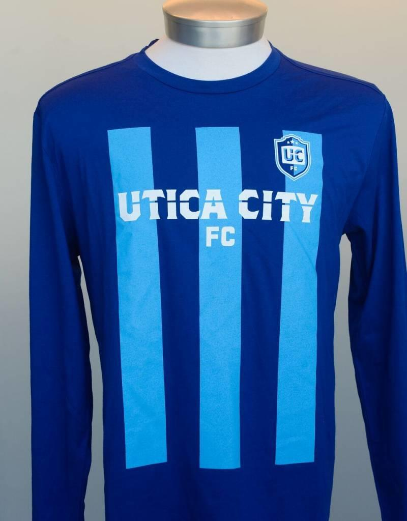 New Era UCFC Men's Blue New Era Long Sleeve Shirt