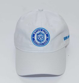 Pacific Headwear UCFC White Adjustable Hat w/ Circle Logo