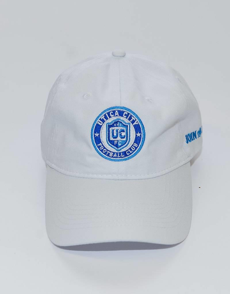 Pacific Headwear UCFC White Hat w/ Circle Logo