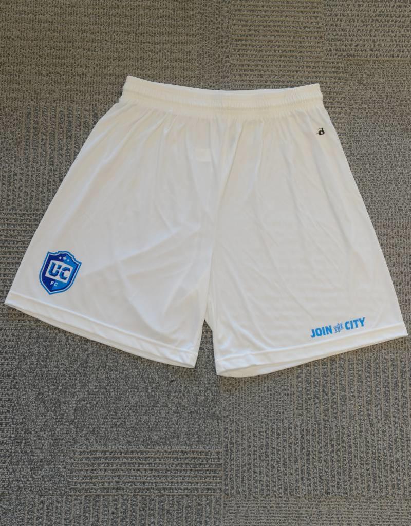 Badger UCFC Men's White Badger B-Dry Shorts