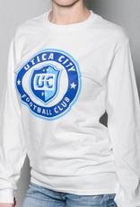 UCFC Men's White Long Sleeve Flag Shirt
