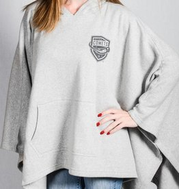 MV Sport Amanda Grey Poncho w/ Comets Shield