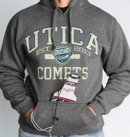 J America Tailgate Hoodie Grey w/ Comets Shield
