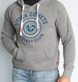 Sportiqe Olsen Grey Hoodie w/ U Logo