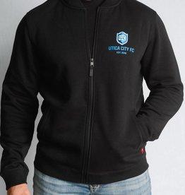 Sportiqe Harris UCFC Black Jacket w/ Crest