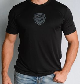 Black Sport-Tek Comets Shield T-Shirt