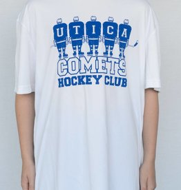 White Youth Sport-Tek Comets T-Shirt
