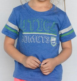 Colosseum Toddler Blue T-Shirt w/ Sleeve Stripes