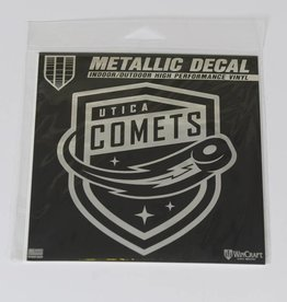 Wincraft Comets Metalic Window Decal