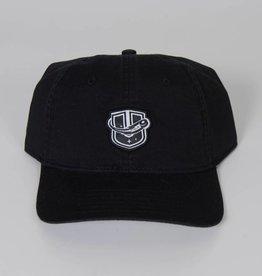 Sportiqe Black Adjustable Hat w/ Raised U Logo