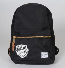Herschel Grove Black Mini Backpack w/ Comets Shield Logo
