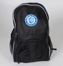 UCFC Black Soccer Ball Backpack w/ Roundel Logo