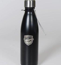 S'Well London Chimney 17oz Bottle Black w/ Comets Shield Logo