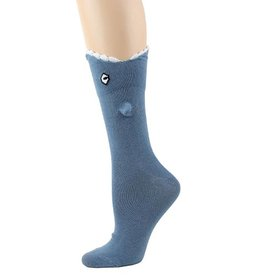 Foot Traffic 3D Shark Bite Socks