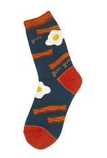 Foot Traffic Bacon N Eggs Women's Socks