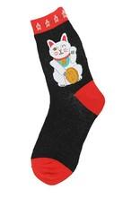Foot Traffic Lucky Cat Women's Socks