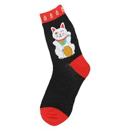 Foot Traffic Lucky Cat Women's Socks