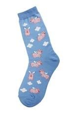 Foot Traffic When Pigs Fly Women's Socks