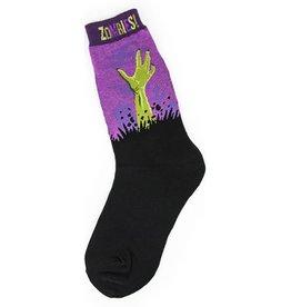 Foot Traffic Zombies Women's Socks