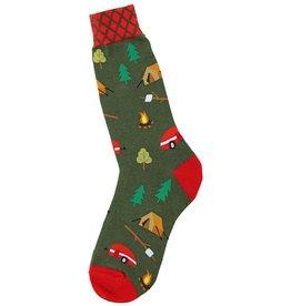 Foot Traffic Camping Men's Socks