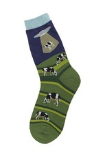 Foot Traffic Alien Abduction Men's Socks