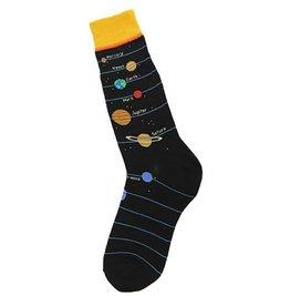 Foot Traffic Planets Men's Socks