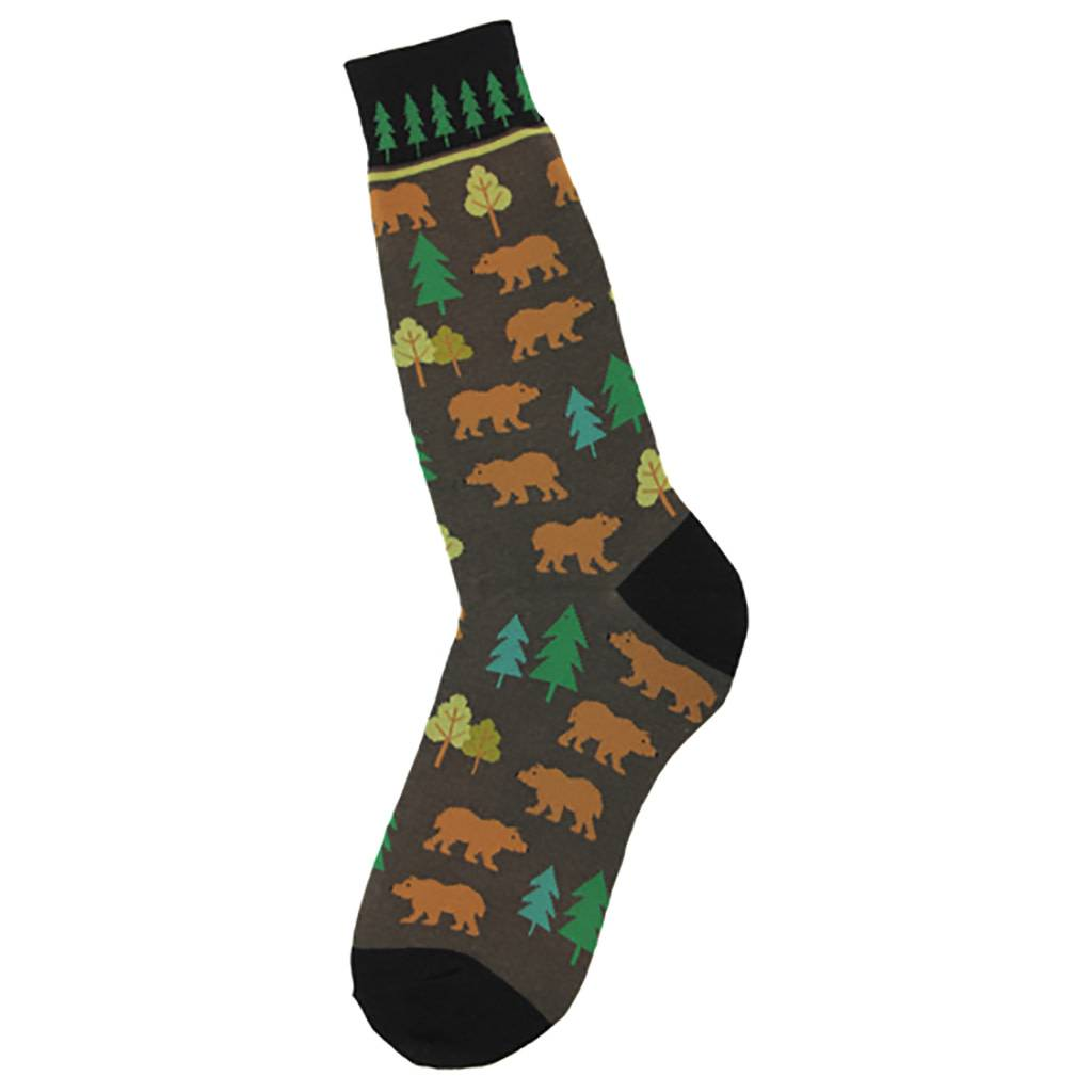 Foot Traffic Bears Men's Socks