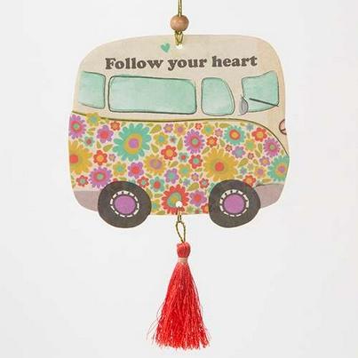 "Natural Life Air Freshener ""Follow Your Heart"""