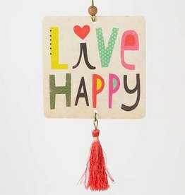 "Natural Life Air Freshener ""Live Happy"""