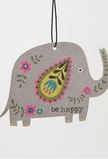 "Natural Life Air Freshener ""Be Happy"" Elephant"
