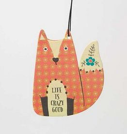 "Natural Life Air Freshener ""Life Is Crazy Good"" Fox"