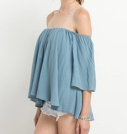 Mitto Flowy Off The Shoulder Top