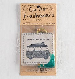 "Natural Life Air Freshener ""Do More"" Van"