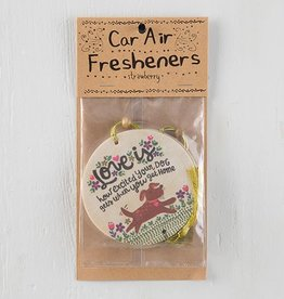 "Natural Life Air Freshener ""Love Is Your Dog"""