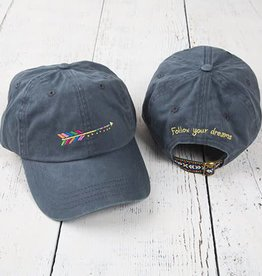 Natural Life Embroidered Hangout Hat
