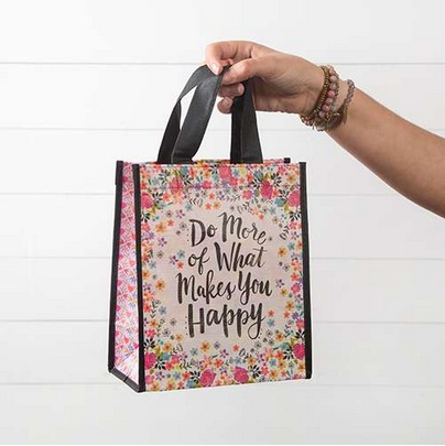 """Natural Life Gift Bag """"Do More Of What Makes You Happy"""""""