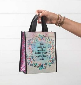 "Natural Life Gift Bag ""You Make The World A Better Place"""