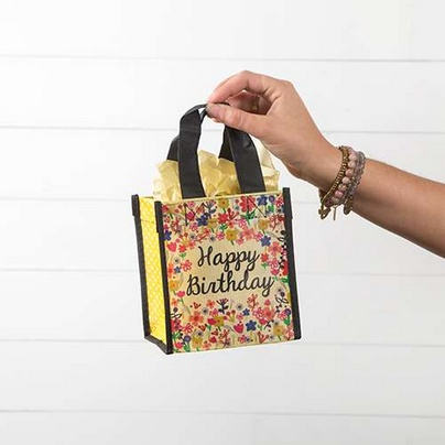 "Natural Life Gift Bag ""Happy Birthday"" (Small)"
