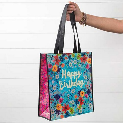 Natural Life Gift Bag Happy Birthday Large