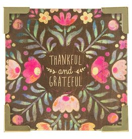 "Natural Life Corner Magnet ""Thankful & Grateful"""