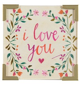 "Natural Life Corner Magnet ""I Love You"""